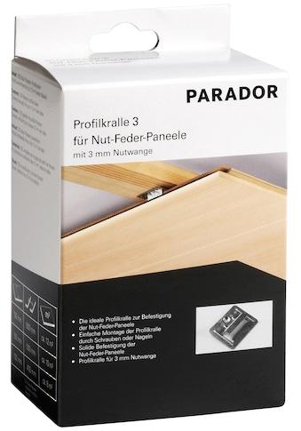 PARADOR Profilkralle »K 300«, 125 Stk. kaufen
