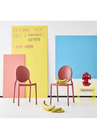 INOSIGN Esszimmerstuhl »Welz«, in fünf trendigen Farbvarianten, aus Kunststoff, Sitzhöhe 45 cm kaufen