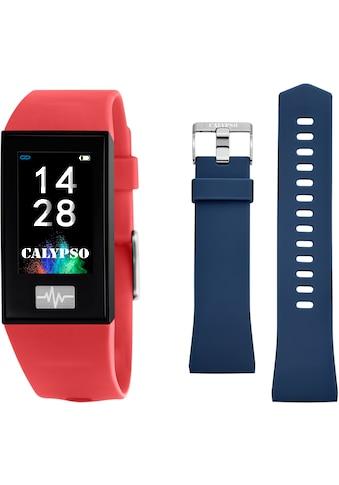 CALYPSO WATCHES Smartwatch »Smartime, K8500/4« (, mit blauem Wechselband kaufen