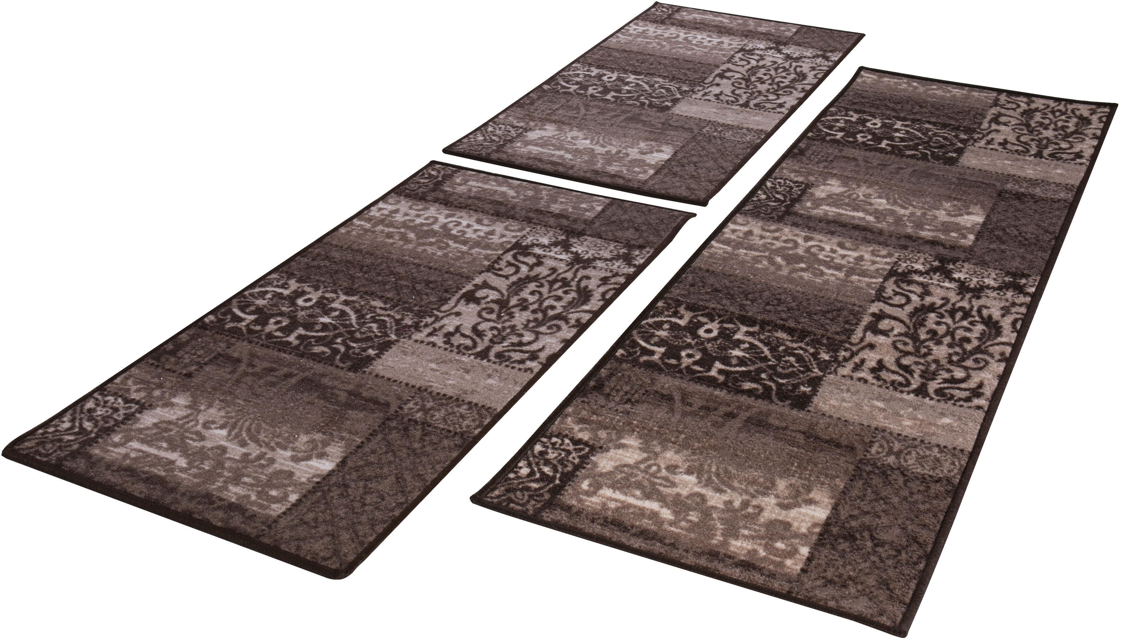 Image of Andiamo Bettumrandung »Jarama«, Bettvorleger, Läufer-Set für das Schlafzimmer, Kurzflor, Vintage-Optik