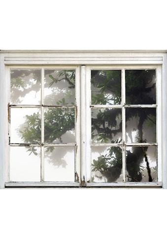queence Wandsticker »Baum im Nebel« kaufen