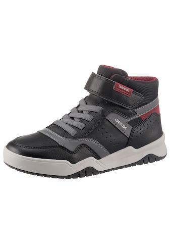 Geox Kids Sneaker »J Perth Boy«, mit Gummizug und Klettriegel kaufen