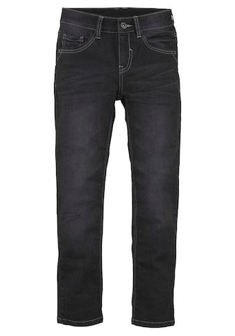 Arizona Stretch-Jeans, regular fit mit schmalem Bein kaufen