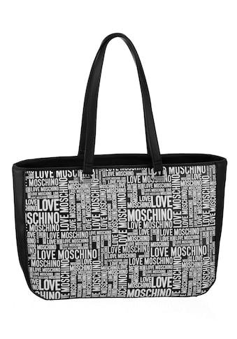 LOVE MOSCHINO Shopper, mit Allover Logo kaufen