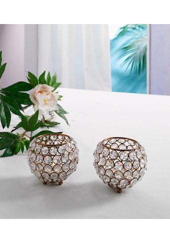 Home affaire Teelichthalter »Kristall« kaufen