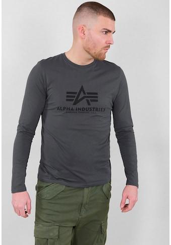 Alpha Industries Langarmshirt »BASIC T - LS« kaufen