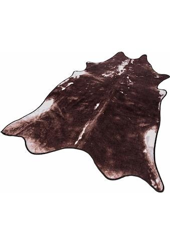 Fellteppich, »Vaca«, Andiamo, fellförmig, Höhe 5 mm, maschinell getuftet kaufen