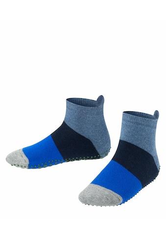 FALKE Haussocken »Colour Block«, (1 Paar), für direkten Schuhkontakt kaufen