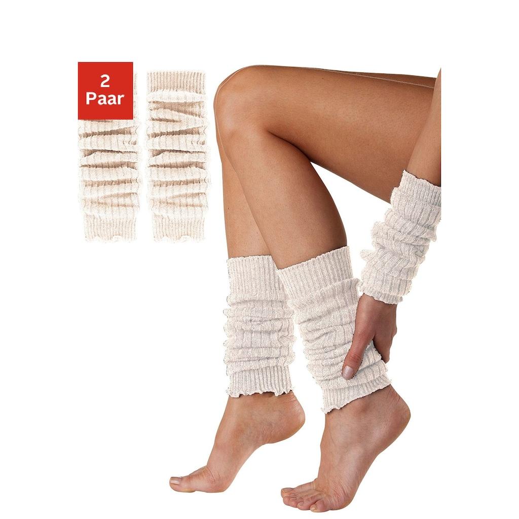 Sympatico Beinstulpen, und Armstulpen