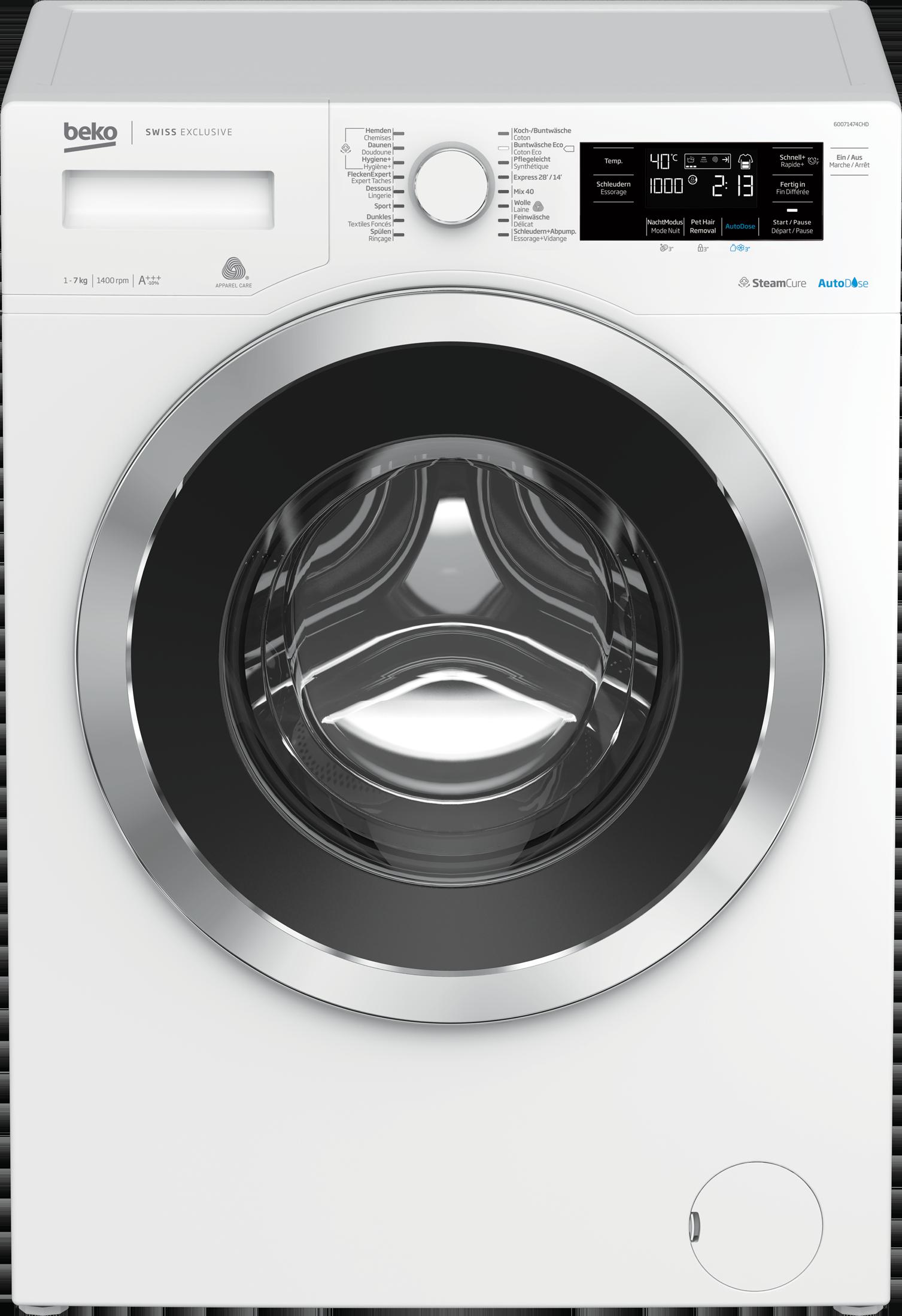 Image of BEKO Waschmaschine, 60071474CHD1