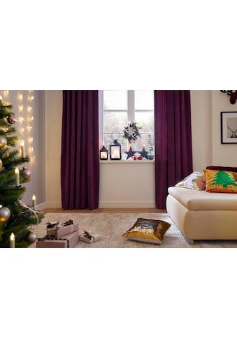 Vorhang, »Brighton«, Home affaire, Kräuselband 2 Stück kaufen