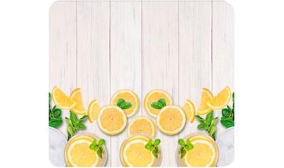 "WENKO Herd - Abdeckplatte ""Zitronen"", Glas Silikon kaufen"