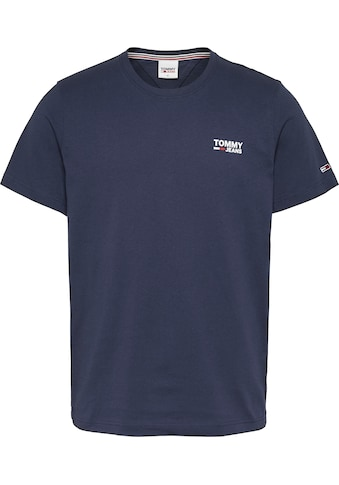 TOMMY JEANS T - Shirt »TJM REGULAR CORP LOGO C NECK« kaufen