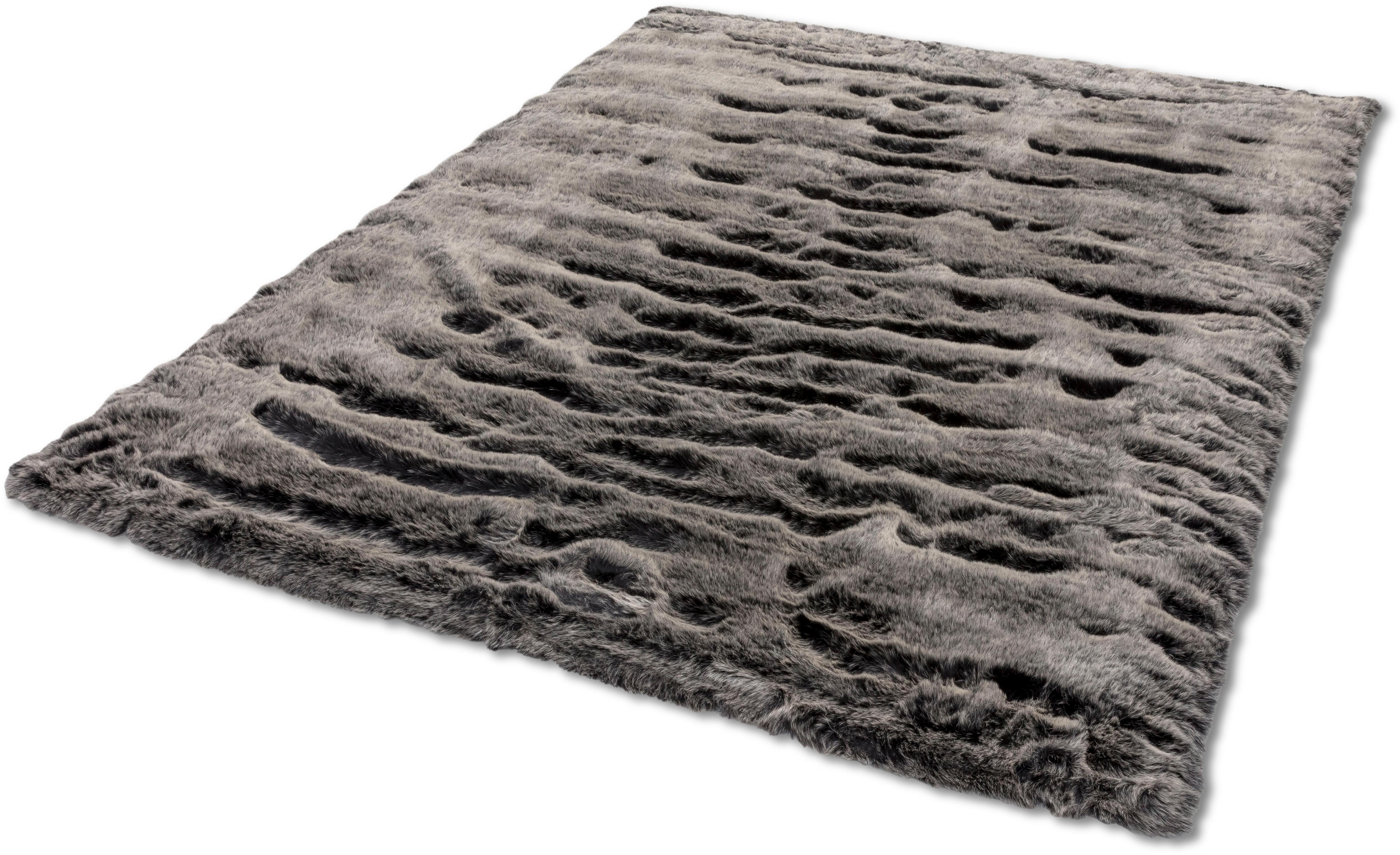 Image of ASTRA Fellteppich »Lucia«, rechteckig, 50 mm Höhe, Kunstfell, waschbar, Wunschmass, Wohnzimmer