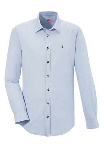 Spieth & Wensky Trachtenhemd mit Hirschstick kaufen