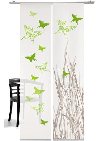 emotion textiles Schiebegardine »Schmetterling«, HxB: 260x60, mit Befestigungszubehör kaufen