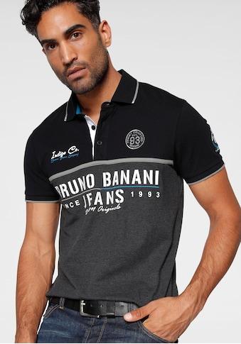 Bruno Banani Poloshirt, Piqué kaufen