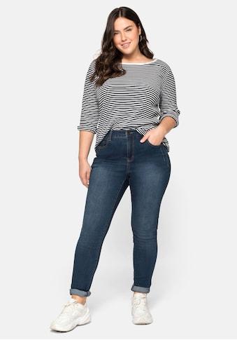 Sheego Stretch-Jeans, extralang - speziell für grosse Frauen kaufen