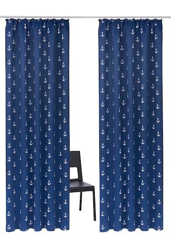 my home Verdunkelungsvorhang »Solana-Anker« kaufen