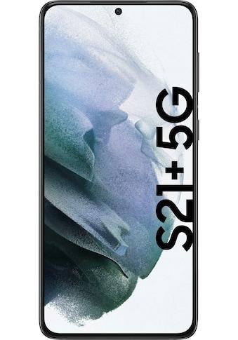 """Samsung Smartphone »Galaxy S21+«, (16,95 cm/6,7 """" 256 GB Speicherplatz, 12 MP Kamera), 256 GB black 5G kaufen"""