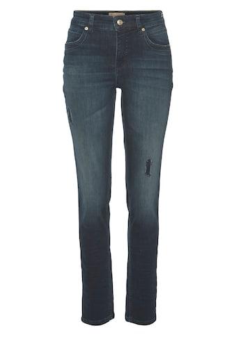 MAC Destroyed-Jeans »SM Mel«, Klassicher Schnitt von MAC mit Sylvie Meis kaufen