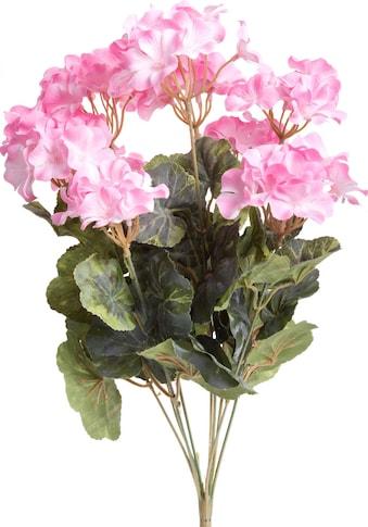 Botanic-Haus Kunstblume »Geranienbusch gross« kaufen