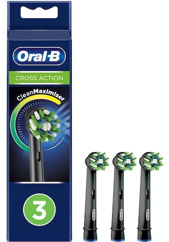 Oral B Aufsteckbürsten »Cross Action BLACK CleanMaximizer«, CleanMaximiser-Technologie kaufen