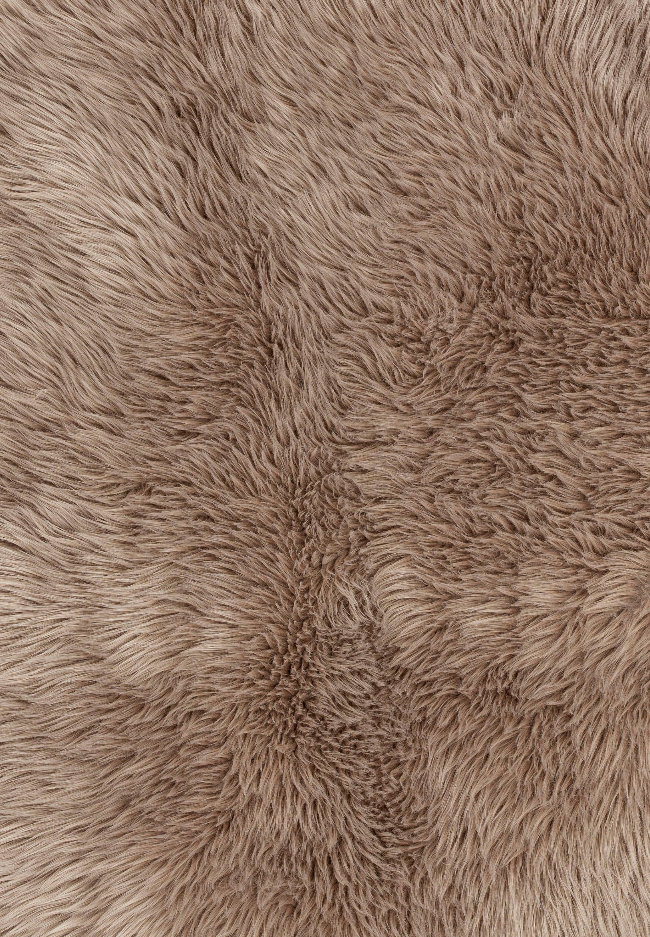 Image of ASTRA Fellteppich »Mia«, rechteckig, 50 mm Höhe, Kunstfell, waschbar, Wunschmass, Wohnzimmer