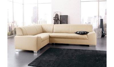 DOMO collection Ecksofa »Alisson«, wahlweise mit Bettfunktion kaufen