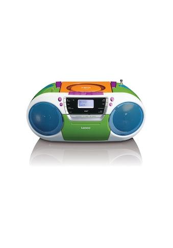 Lenco Digitalradio (DAB+) »SCD-681 Mehrfarbig«, (CD Digitalradio (DAB+)-FM-Tuner ) kaufen