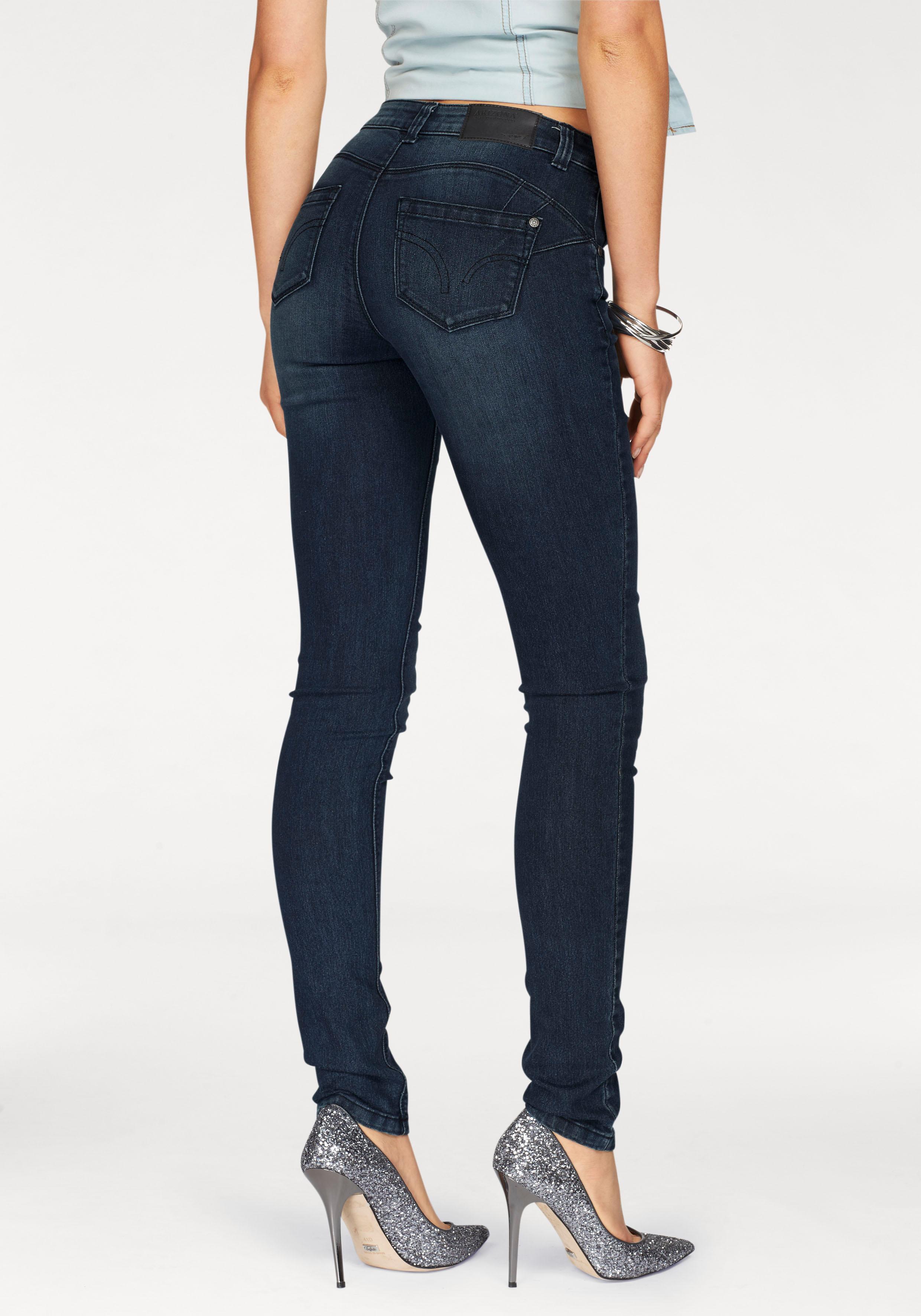 Arizona Skinny-fit-Jeans »Shaping« jetzt online bestellen ...