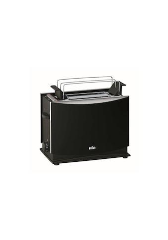 Toaster, Braun, »Multiquick 3 HT450, Schwarz« kaufen