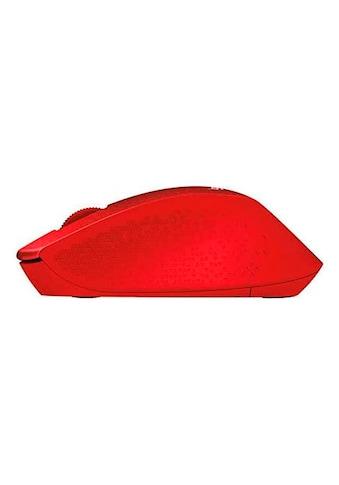Logitech Maus »M330 Silent Plus Red« kaufen