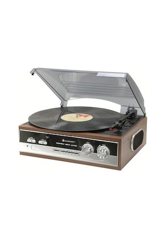 Soundmaster Stereoanlage »PL186H Braun«, ( FM-Tuner ) kaufen