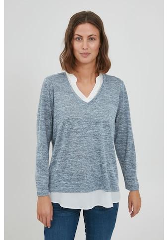 fransa Sweatshirt »FRCEREXAN 1 PULLOVER 20609798«, Feinstrick Sweatshirt mit... kaufen
