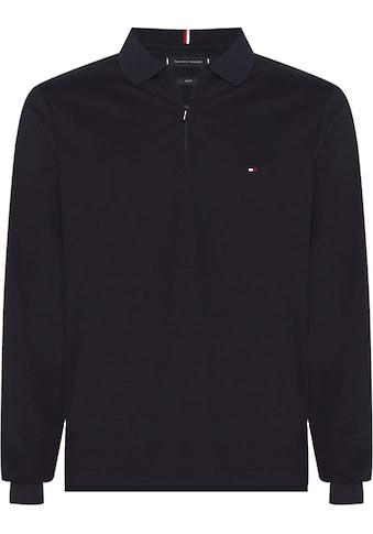TOMMY HILFIGER Langarm-Poloshirt »ZIP INTERLOCK SLIM LS POLO« kaufen