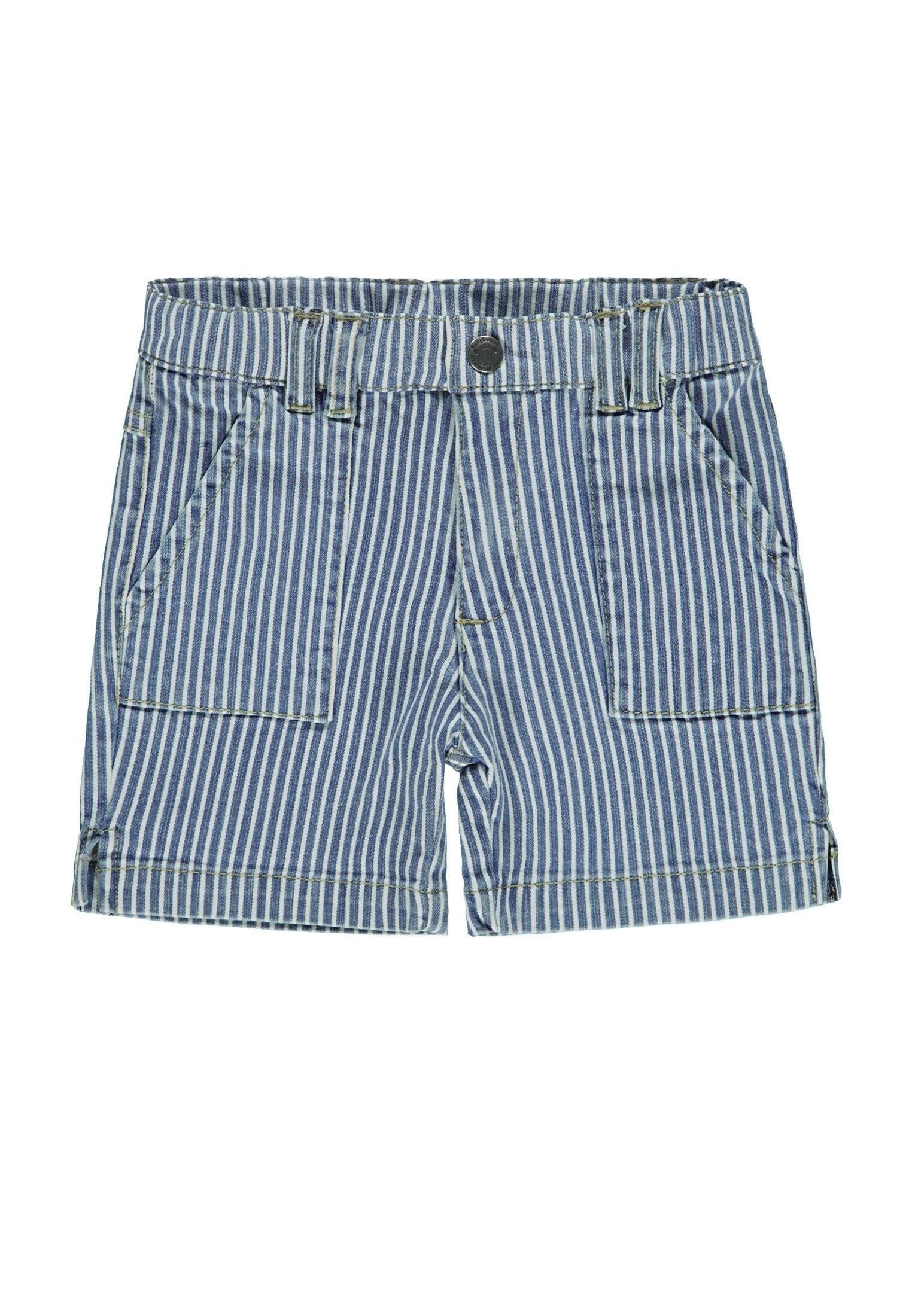 Image of Bellybutton Bermudas, Jeans, gestreift