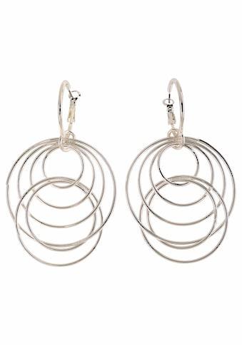 J.Jayz Paar Ohrhänger »mit beweglichen Ringen«, (1 tlg.) kaufen