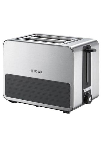 Kompakt Toaster, Bosch, »TAT7S25 grau  -  Schwarz« kaufen