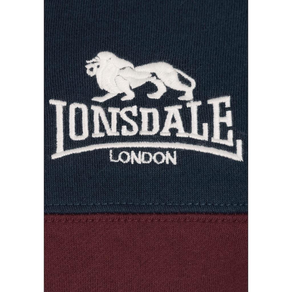 Lonsdale Kapuzensweatjacke »RINSEY«