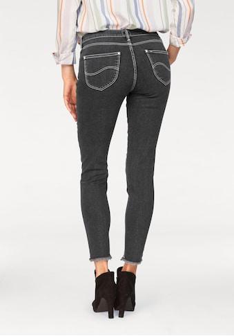 Lee® Destroyed-Jeans, mit Fransen am Saum kaufen