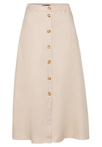 MORE&MORE Buttoned CV - Linen Skirt Active kaufen