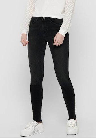 Only Ankle-Jeans »ONLBLUSH LIFE«, mit fransigen Säumen kaufen