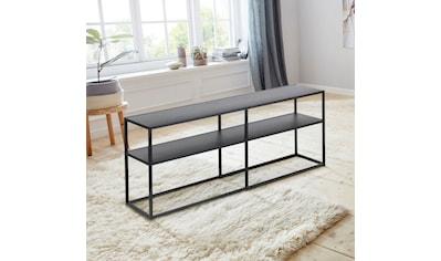 andas Konsolentisch »Vilho«, aus schönem, schwarzen Metall, Breite 120 cm kaufen