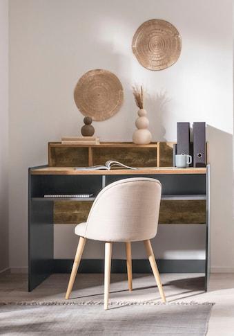 GOODproduct Schreibtisch »Jaaron«, Breite 120 cm, 7 offene Fächer kaufen