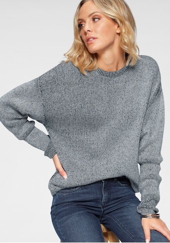 Arizona Strickpullover »in Washed - Optik« kaufen