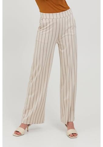 Ichi Stoffhose »IHRUTI PA8 20114587«, Lange Culotte Stoffhose mit Streifen kaufen