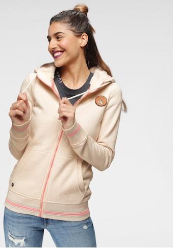 Ocean Sportswear Kapuzensweatjacke, mit Teddyplüsch an der Kapuze kaufen