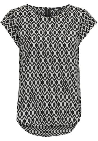 ONLY CARMAKOMA Klassische Bluse »CARVICA«, mit Rundhalsaussschnitt kaufen