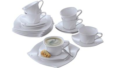 Retsch Arzberg Kaffeeservice »Emotion«, (Set, 18 tlg.), Spülmaschinenfest kaufen